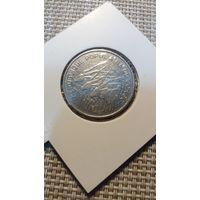 Конго 100 франков 1975