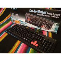 Игровая клавиатура A4Tech X7 G300 PS/2 (Полный комплект)