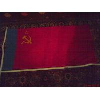 Флаг РСФСР от 23 февраля 1990 года с биркой