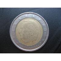 2 евро Бельгия 2000