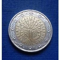 Франция 2 евро 2015