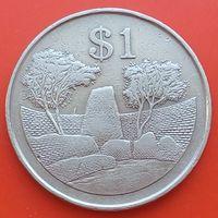 1 доллар 1980 ЗИМБАБВЕ