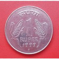 63-09 Индия, 1 рупия 1999 г.