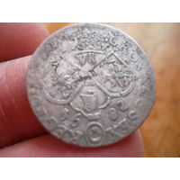 6 грошей 1682 год