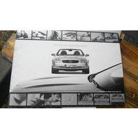 Официальный дилерский буклет Mercedes SLK R170