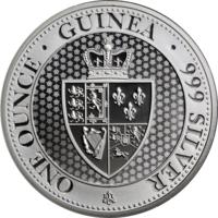 Остров Святой Елены 1 фунт 2019 серебро (1 oz)