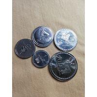Набор монет Грузии 1993 года!