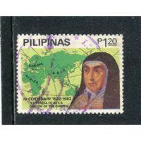 Филиппины. Тереза Авильская, монахиня-кармелитка