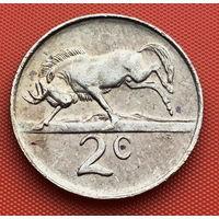 122-03 ЮАР, 2 цента 1989 г.
