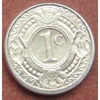 6522:  1 цент 2001 Антильские острова