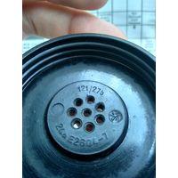 Крышка от трубки полевого телефона Вермахта. 1943 год. Клейма.