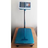 Торговые напольные весы до 600 кг с платформой 600*800 мм