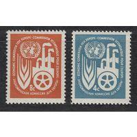 1959 ООН Нью-Йорк 78-79 экономический центр ООН