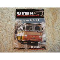 Autosan H9-21 (Orlik 106) (модель из бумаги, журнал)