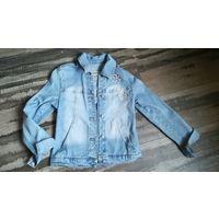 Джинсовая куртка 140