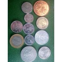 Монеты 11 шт