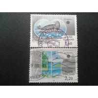Финляндия 1986 Европа природа полная серия
