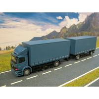 Модель грузового автомобиля Mercedes-Benz Atego (1). Масштаб HO-1:87.