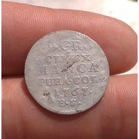 2 гроша 1767 двугрош