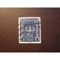 Австрия 1922 г.Стандарт.Женская голова .