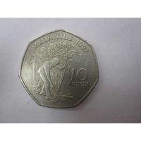 10 Рупей 1997 (Маврикий)