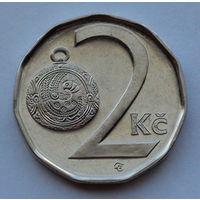 Чехия 2 кроны. 2010