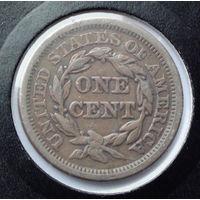 США 1 цент. 1855. Liberty Head Cent