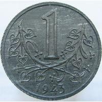 Прот. Богемия и Моравия 1 крона 1943 оккупация (157)