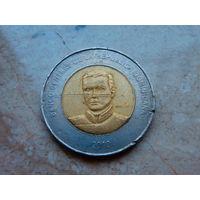 10 песо 2010 Доминиканская Республика.