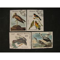 Конго 1985 Птицы 200 лет со дня рождения Обюбона
