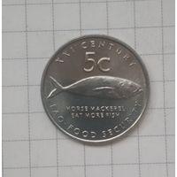 Намибия 5 центов, 2000 ФАО