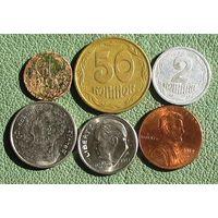 Шесть монет