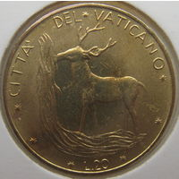 Ватикан 20 лир 1972 г. В холдере (gk)