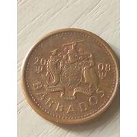 Барбадос 1 цент 2008г.