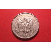 1 злотый 1995. Польша.