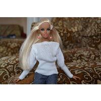 Свитер для кукол барби и fashion royalty hand made