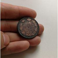 2 копейки 1819 г. ЕМ НМ. Александр I. Буквы ЕМ НМ.,  лот пав-2