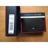 TOMMY HILFINGER кошелек (бумажник),новый, кожа. Оригинал из США.