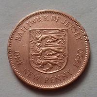 1 пенни, Джерси 1980 г.