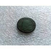 """1 грош 1755 Август III """"Толстый"""""""