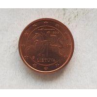1 евроцент 2015 Литва