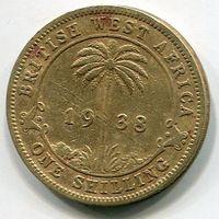БРИТАНСКАЯ ЗАПАДНАЯ АФРИКА - ШИЛЛИНГ 1938