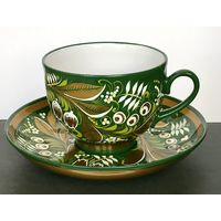 Чайная пара (керамика).