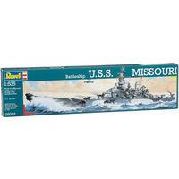 Сборная модель Военный корабль США Battleship USS MISSOURI, 1:535,Revell