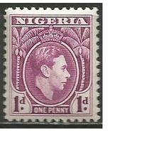 Нигерия. Король Георг VI. 1938г. Mi#47.
