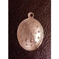 Медальон польский старинный. Алюминий
