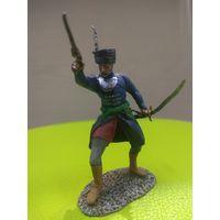 Солдатик оловянный(военно-историческая миниатюра) шляхтич Речи Посполитой