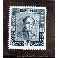 Бельгия.Ми-844.Король Бельгии Леопольд I с эполетами.1949.