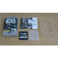 Картридж STAR WARS для SEGA GAME GEAR (BOX)