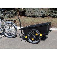 Велоприцеп, велотележка, грузовой прицеп для велосипеда, туристический прицеп к велосипеду.